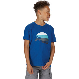 Regatta Bosley III T-Shirt Kinderen, nautical blue